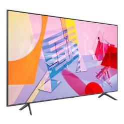 نمای تلویزیون سامسونگ 58 اینچ مدل 58Q60T از زاویه چپ