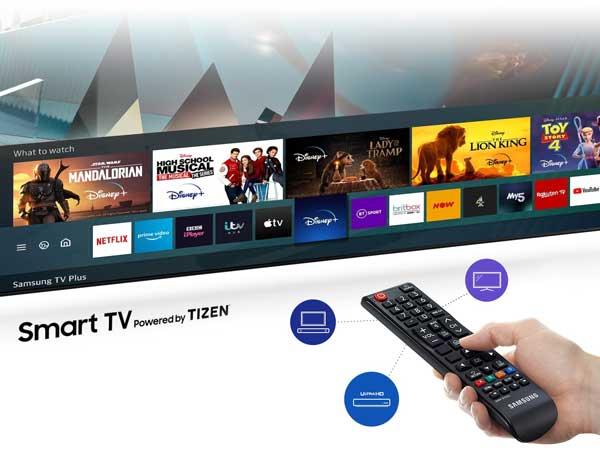 تلویزیون هوشمند سامسونگ مدل 50TU7100