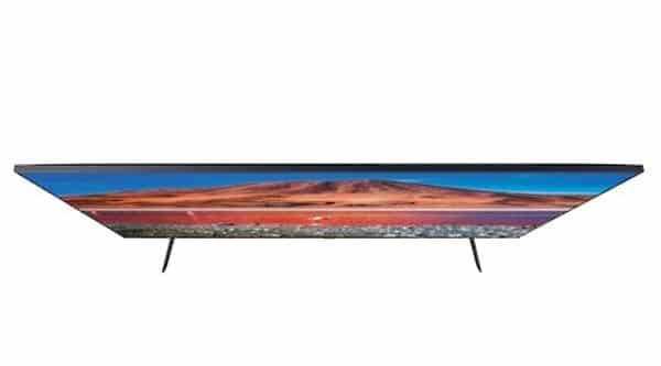 طراحی مدرن تلویزیون سامسونگ مدل 58TU7100