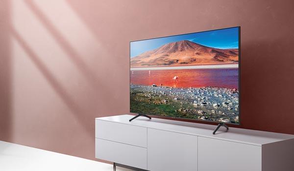 تلویزیون Crystal UHD سامسونگ مدل 55TU7000