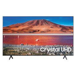 نمای تلویزیون سامسونگ 58 اینچ مدل 58TU7100 از روبرو