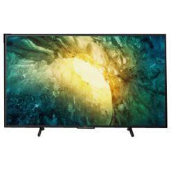 طراحی تلویزیون سونی 55 اینچ مدل 55X7500H از روبرو