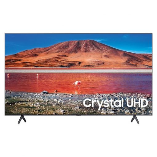 طراحی تلویزیون سامسونگ 70 اینچ مدل 70TU7100 از روبرو