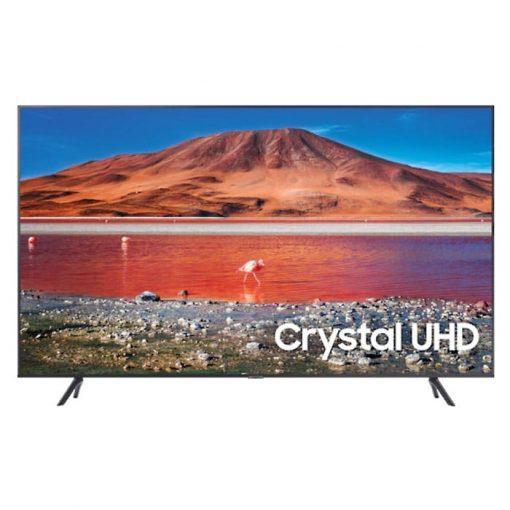 طراحی تلویزیون سامسونگ 50 اینچ مدل 50TU7100 از روبرو