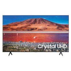 نمای تلویزیون سامسونگ 55 اینچ مدل 55TU7000 از روبرو